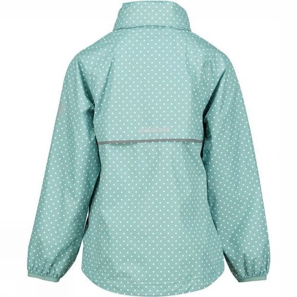 Ayacucho Girls Leelo Alp Junior Packable Jacket Light Blue