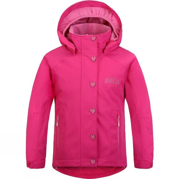 Skogstad Kids Veoli Jacket Sharp Pink