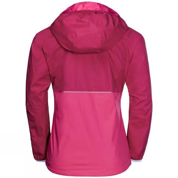 Jack Wolfskin Girls Rainy Days Jacket Azalea Red