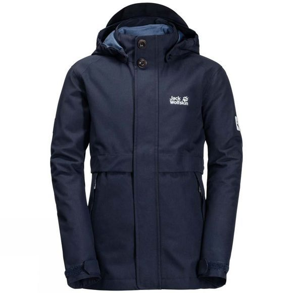Jack Wolfskin Kids Heljar 3in1 Jacket Midnight Blue
