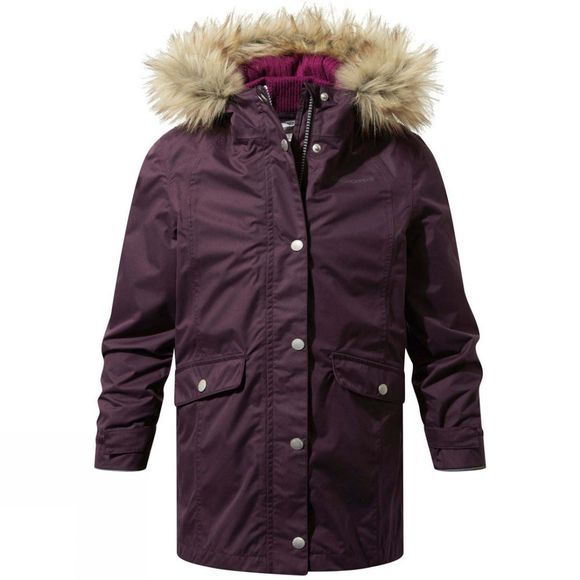 Craghoppers Girls Florrie 3in1 Jacket Thistle