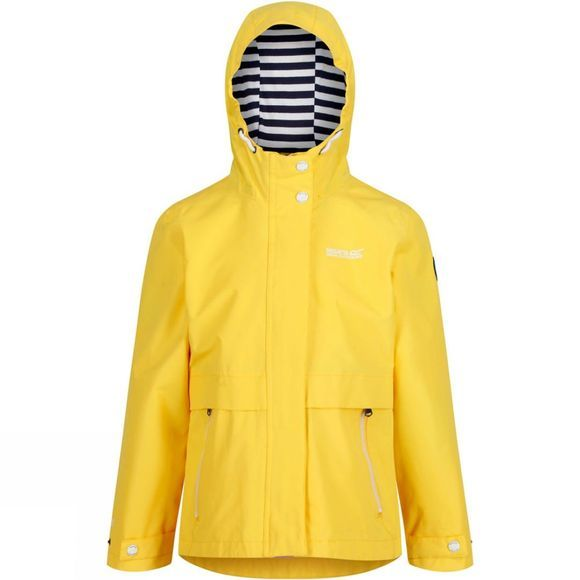 Regatta Kids Bambalina Waterproof Jacket Sunbeam