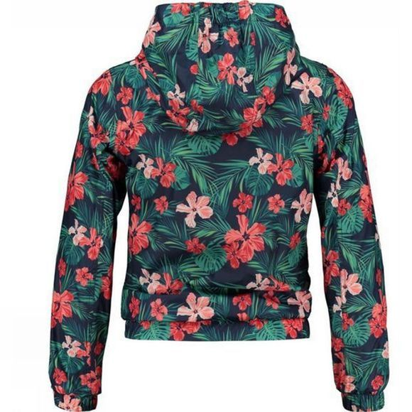 Ayacucho Girls Almond Jacket Hibiscus