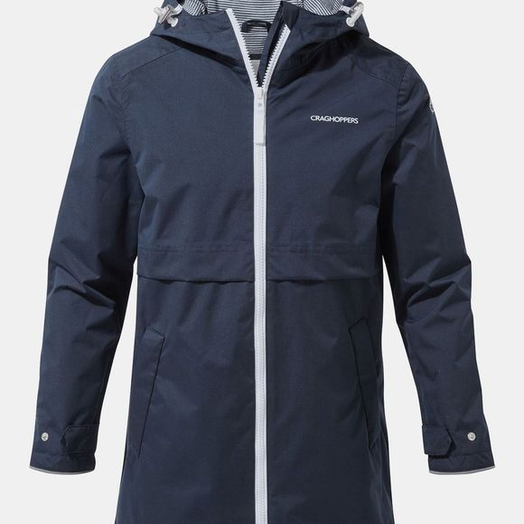 Craghoppers Girls Dahna Jacket Blue Navy