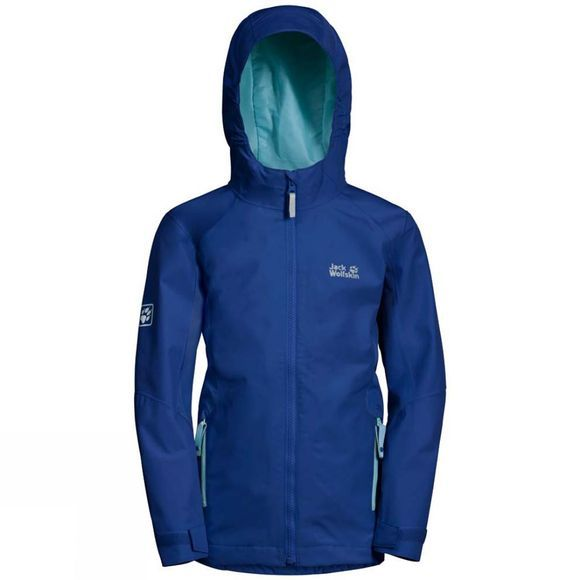 Jack Wolfskin Girls Grivla Jacket Active Blue