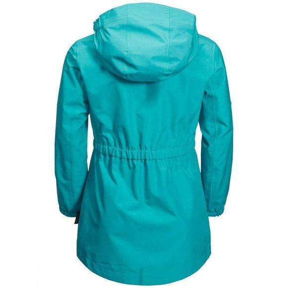 Jack Wolfskin Girls Hidden Falls Jacket Aquamarine