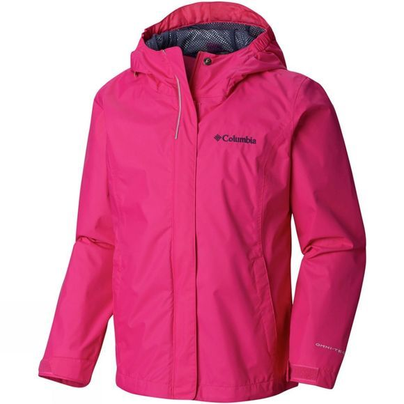 Columbia Girls Arcadia Jacket Age 14+ Haute Pink/Nocturnal