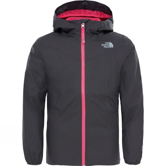 The North Face Girl's Eliana Rain Triclimate Jacket Age 14+ Graphite Grey/Petticoat Pink