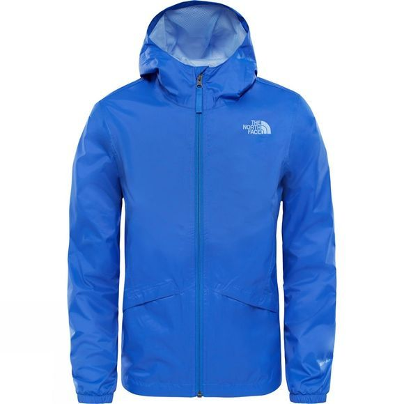 The North Face Girls Zipline Rain Jacket Age 14+ Dazzling Blue