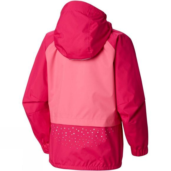 Columbia Girls Splash S'more  Rain Jacket 14+ Haute Pink, Wil