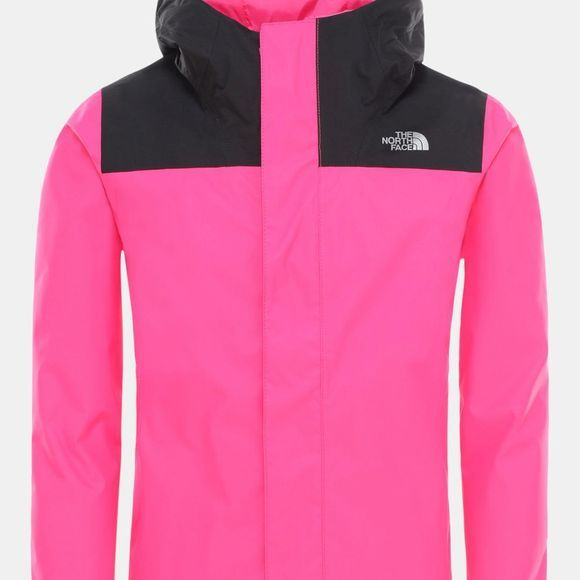 The North Face Girls Resolve Reflective Jacket 14+ Mr. Pink