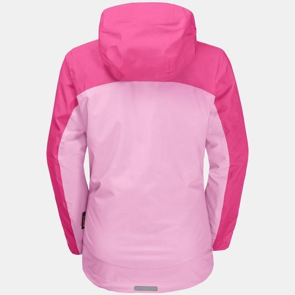 Jack Wolfskin Girls Saana 3In1 Jacket 14+ Lilac