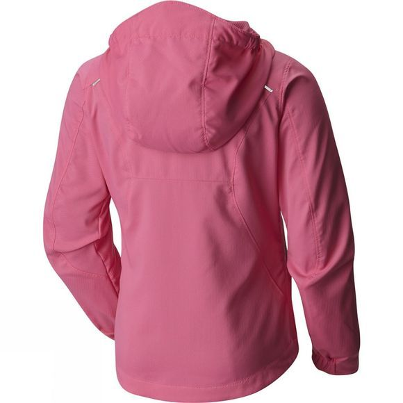 Columbia Girls Splash Flash II Hooded Softshell Jacket Wild Geranium