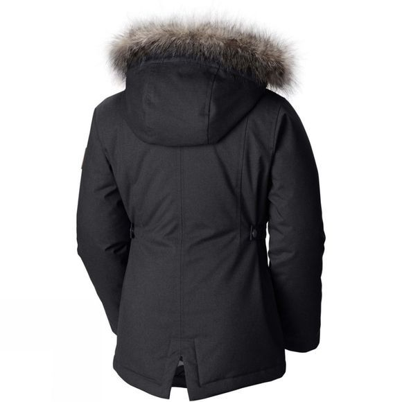 Columbia Girls Barlow Pass 600 TurboDown Jacket Black Melange