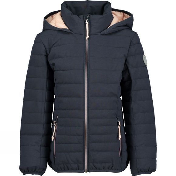 Ayacucho Girls Daisy Insulated Jacket Navy