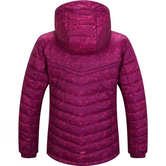 Skogstad Girls Skeikampen Jacket Purple Haze Print