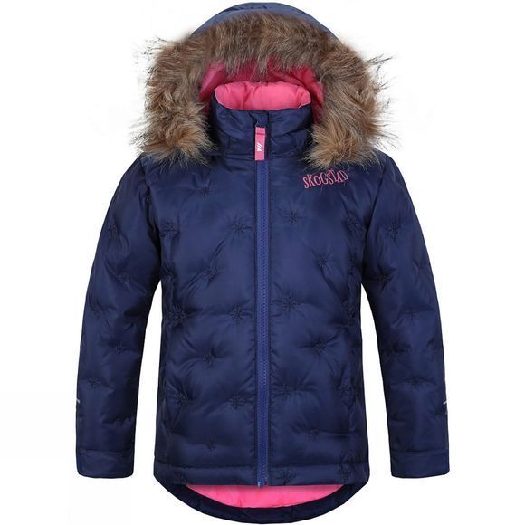 Skogstad Kids Slottet Jacket Bright Denim