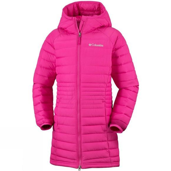Columbia Girls Powder Lite Mid Jacket Cactus Pink