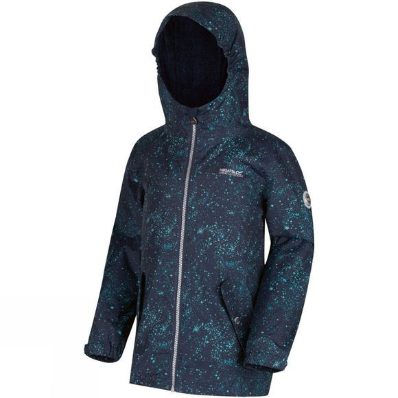 Regatta Kids Braylee Jacket Navy Cosmic