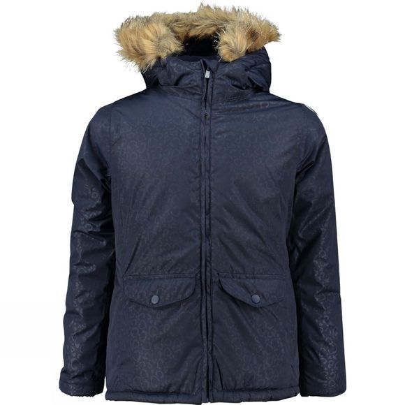 Ayacucho Girls Zaida Parka Evening Blue