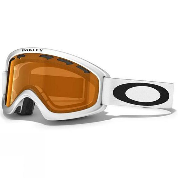 Oakley Kids O2 XS Goggle Matt White/Persimmon