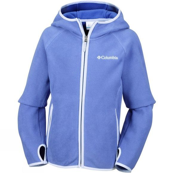 Girls Fast Trek Hooded Fleece