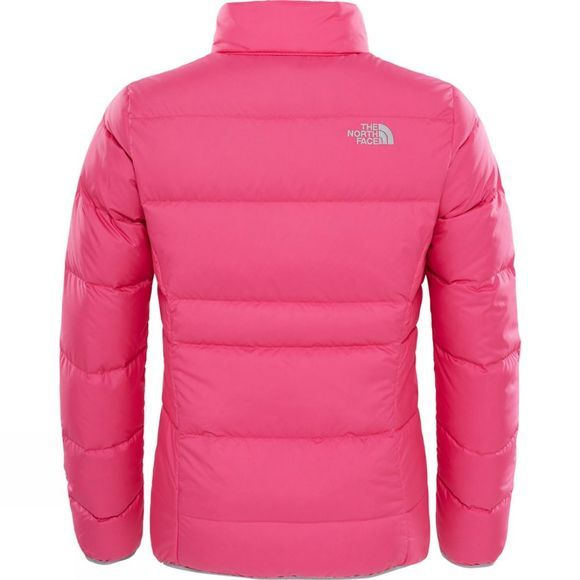 The North Face Girls Andes Down Jacket Petticoat Pink