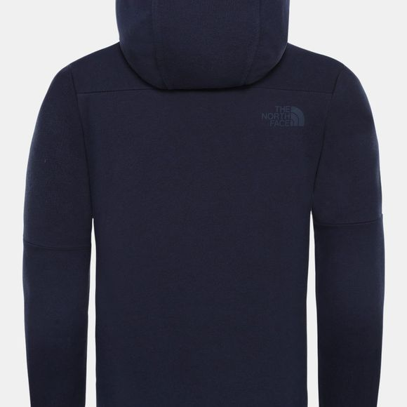 The North Face Girls Drew Peak Hoodie Montague Blue