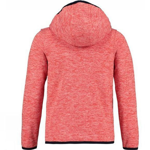 Ayacucho Girls Angie Fleece Hoodie Red Melange