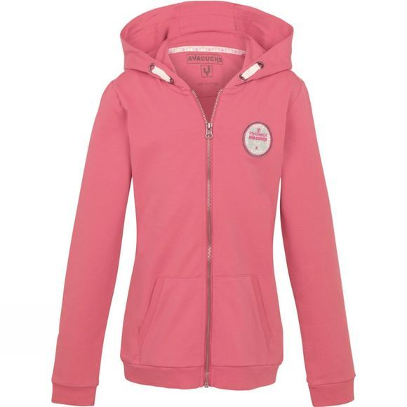 Ayacucho Bluebell Full Zip Hoody Age 14+ Rapture Rose