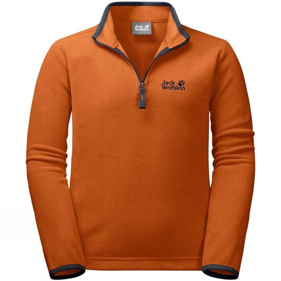 Jack Wolfskin Girls Kids Gecko Pullover 14+ Desert Orange