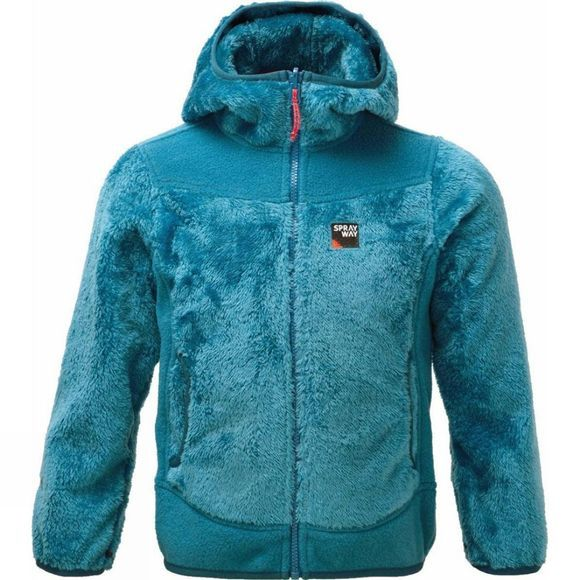 Sprayway Kids Bianca I.A. Fleece Age 14+ Blue Tile