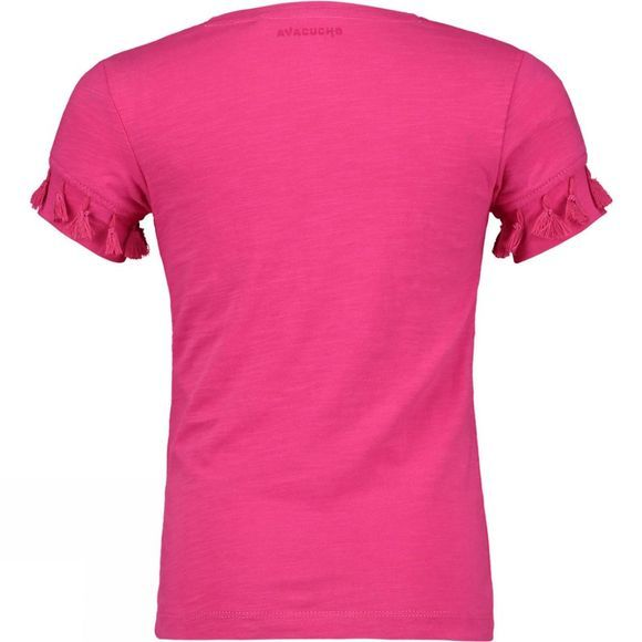 Ayacucho Girls Santarosa T Shirt ROSE VIOLET