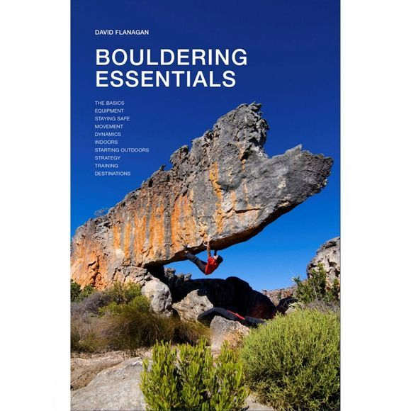 Three Rock Books Bouldering Essentials No Colour