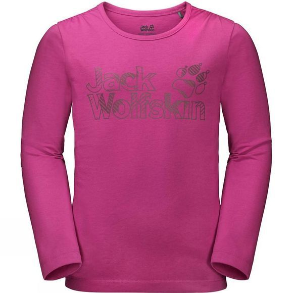 Girls Long Sleeve Brand Tee 14+