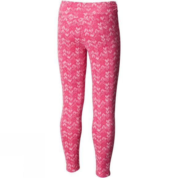 Columbia Girls Glacial Printed Leggings Cactus Pink Arrows Print