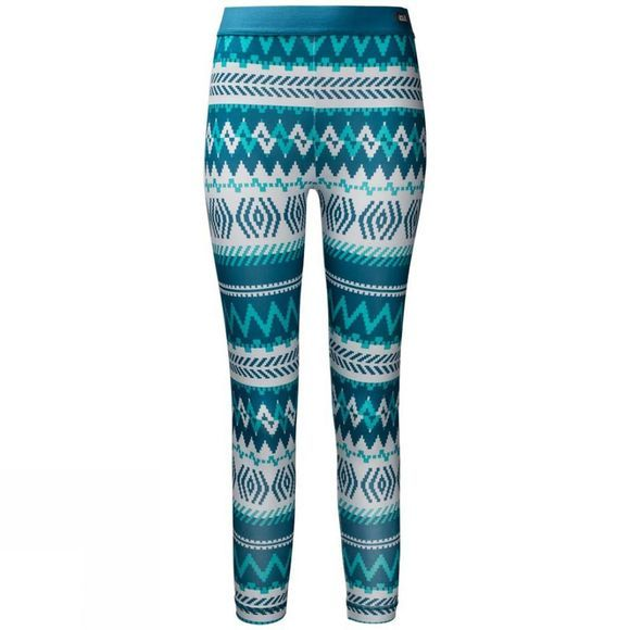 Jack Wolfskin Girls Inuit Tights Celestial Blue All Over