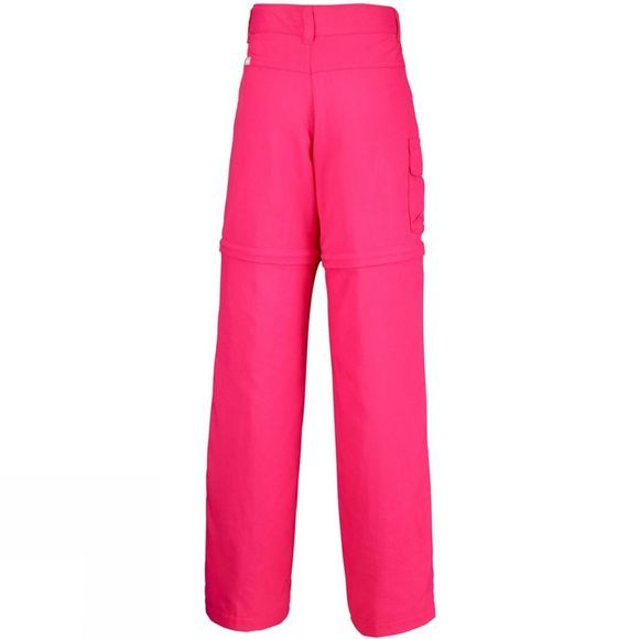 Columbia Girls Silver Ridge III Convertible Trousers Punch Pink
