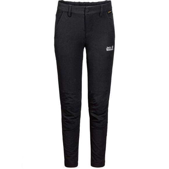 Jack Wolfskin Girls Activate Dynamic Trousers Black