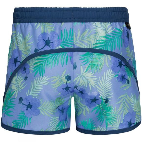 Jack Wolfskin Girls Yuba Shorts Pale Purple All Over