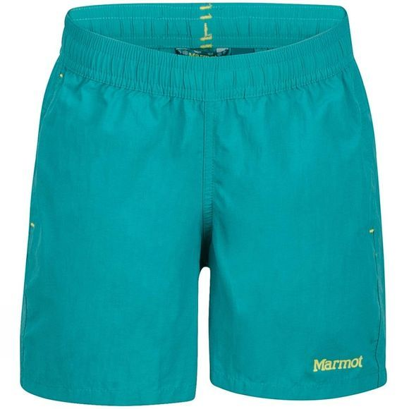 Marmot Girls Augusta Maria Shorts Teal Tide