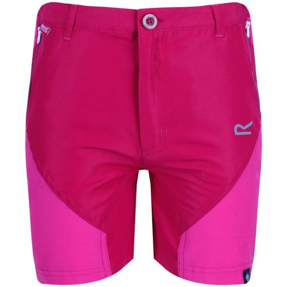 Regatta Kids Sorcer Mountain Shorts Dark Cerise/Caberet