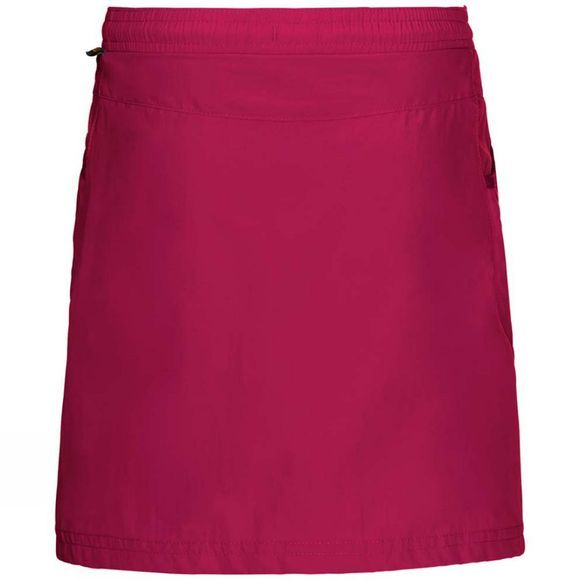 Jack Wolfskin Girls Cricket 2 Skort Azalea Red