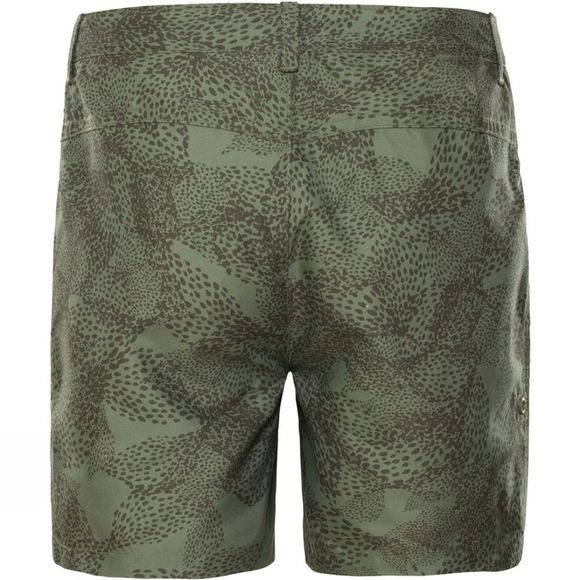 The North Face Girls Amphibious Shorts Four Leaf Clover Super Bloom