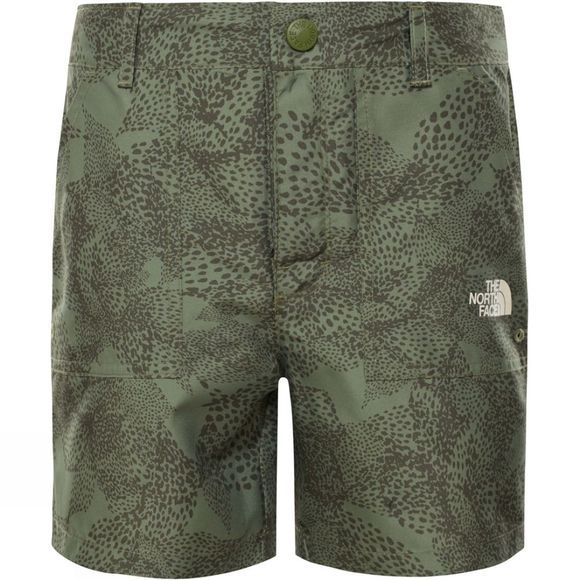 The North Face Girls Amphibious Shorts 14+ Four Leaf Clover Super Bloom