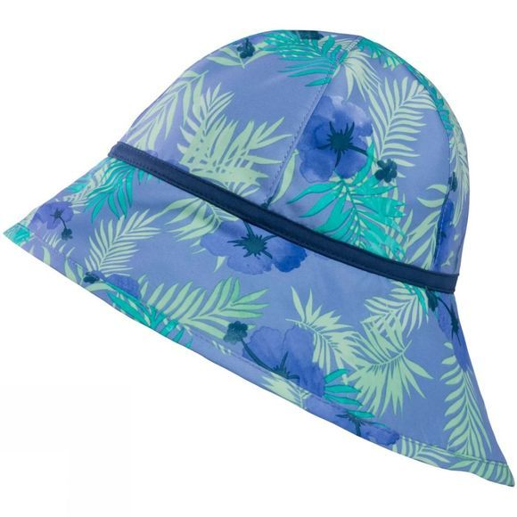 Jack Wolfskin Girls Yuba Hat Pale Purple All Over