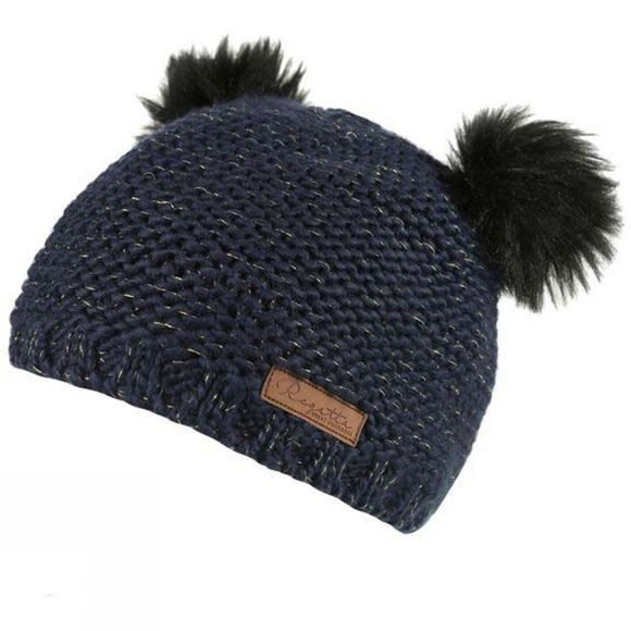 Regatta Girls Hedy Lux Hat Navy Metallic