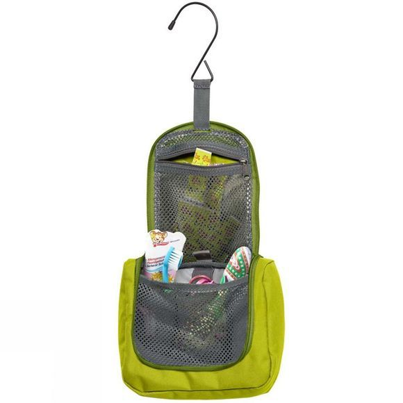 Jack Wolfskin Kids Washroom Wash Bag Green Lime