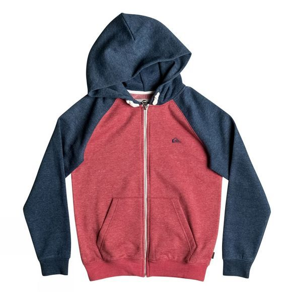Quiksilver Everyday Zip Hoody 14+ Cardinal Heather