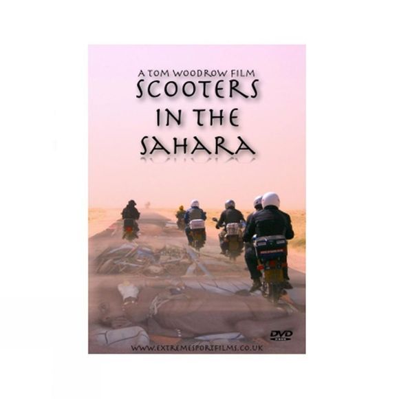 Scooters in the Sahara